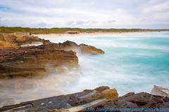 Wellen am Strand von Es Trenc (junghahn24) Tags: march spring waves wave motionblur splash mallorca märz mediterraneansea frühling wellen bewegungsunschärfe balearicislands ndfilter mittelmeer balearischeinseln nd1000 graufilter