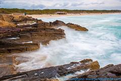 Wellen am Strand von Es Trenc (junghahn24) Tags: march spring waves wave motionblur splash mallorca mrz mediterraneansea frhling wellen bewegungsunschrfe balearicislands ndfilter mittelmeer balearischeinseln nd1000 graufilter