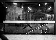 Moving (SchillingD) Tags: life street people urban white streetart black germany lumix lights blackwhite streetphotography menschen urbanart 20mm kontrast dortmund bnw personen streetshot deutschlang streetphotografie streetfotography streetfotografie gf7