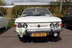 1978 Tatra 613 'Chromka' (Davydutchy) Tags: auto classic car spring automobile rally voiture vehicle oldtimer tatra pkw klassieker maartensdijk mauritshoeve automobiel voorjaarsrit frhlingstreffen tatraregisternederland