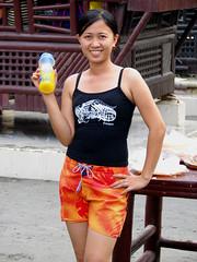 Lanie (JUST THE PHILIPPINES) Tags: girl asian asia pretty philippines manila filipino filipina garcia oriental calapan dose citimart valenton batino