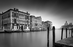 Grand Canal (vulture labs) Tags: longexposure venice blackandwhite bw italy night zeiss photography canal fineart grand workshop fineartphotography firecrest vulturelabs