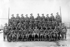 Soldiers of the 9th Light Horse Regiment, c1916 (State Library of South Australia) Tags: wwi worldwari worldwarone soldiers aif slouchhats 7thbattalion 9thlighthorseregiment