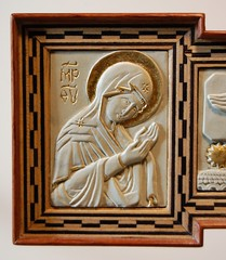 DSC_5589 (AndrewGould) Tags: american orthodox byzantine marquetry inlay iconographic andrewgould jonathanpageau carvedicon