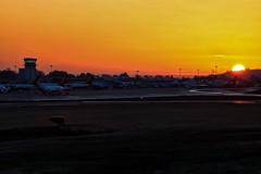Bristol Airport Sunrise (Shaun Grist) Tags: england sunrise bristol airport ramp aircraft aviation airline aeroplanes brs bristolairport lulsgate avgeek eggd bristollulsgate