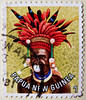 great stamp Papua New Guinea 1T (man with fascinator/headpiece  of province Chimbu / Simbu; headdress, coiffe, Kopfschmuck, головно́е украше́ние, adorno de la cabeza, 头饰) timbres Papouasie-Nouvelle-Guinée 우표 파푸아뉴기니 sellos Papúa Nueva Guinea selos Papua (stampolina, thx for sending stamps! :)) Tags: man color colour colourful papuanewguinea farbe bunt headdress chimbu sellos simbu headpiece 巴布亚新几内亚 kopfschmuck 邮票 selos coiffe timbres fascinator frimærker francobolli postzegels 切手 papuanuovaguinea パプアニューギニア 우표 markica papouasienouvelleguinée 头饰 papoeanieuwguinea frimerker παπούανέαγουινέα papúanuevaguinea แสตมป์ ปาปัวนิวกินี papuanovaguiné postimerkit papuanowagwinea papuanyguinea 파푸아뉴기니 papuauusiguinea pullari γραμματόσημα znaczkipocztowe papuayenigine головно́еукраше́ние adornodelacabeza papuanovagvineja