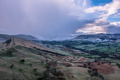 war of the seasons-edale valley (Star*sailor) Tags: blue winter sky snow clouds spring seasons district peak valley edale