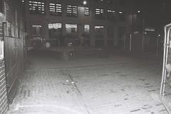 Mitre Square (Night) (goodfella2459) Tags: white black london history film night analog corner 35mm square jack nikon delta f65 crime catherine 100 mitre whitechapel milf ilford ripper rippers eddowes