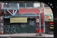 (alwaysanalias) Tags: kez kez5 graffiti tags vandalism aerosolart spraypaint church street sidewalk urban bronx nyc nycartist art streetart