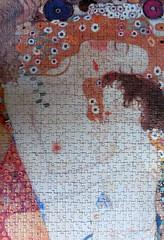 Die Drei Lebensalter [detail] (pefkosmad) Tags: italy art painting hobby puzzle leisure jigsaw gustavklimt pastime 500pieces ricordiarte diedreilebensalter