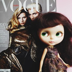 My partner brought back a copy of Paris Vogue for Anouk from his European business trip. She will now pass judgment. 😄