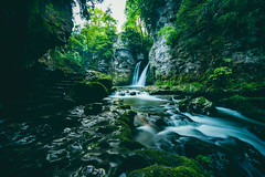 Strength of Nature (Maximecreative) Tags: longexposure nature water river switzerland waterfall spring rocks stream peaceful wideangle calm motionblur lee vegetation filters tine strengh vaud conflens daulight juravaudois bigstopper