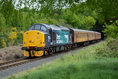 37716 Foley Park 19/05/2016 (Brad Joyce 37) Tags: blue heritage train locomotive passenger svr severnvalleyrailway drs class37 37716 foleypark