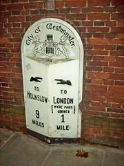 213 How many miles to London Town (robertknight16) Tags: london eleanor charingcross milestone traffalgar