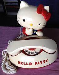 Hello Kitty Telephone Retro Sanrio 1976 Made in Japan (Dayana.jem) Tags: japan vintage hellokitty retro sanrio kawaii 70s stationary madeinjapan