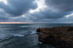 Sunset Cliffs (Shaloot) Tags: ocean sunset sunsetcliffs sandiegoca pentaxk30