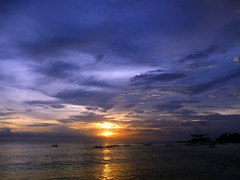 Sunset @ Senggigi Beach, Lombok (yusuf ks) Tags: sunset sky seascape beach nature clouds indonesia landscape island boat awan lombok pulau beautifulbeach pantai langit alam ntb blacksandbeach senggigi sekotong bluebeach westnusatenggara nusatenggarabarat senggigibeach