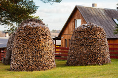 Wood stock for winter / Holz Lager für den Winter