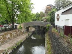 One way in (bryanilona) Tags: bridge mac birmingham path carpark cannonhillpark riverrea midlandsartscentre