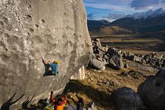Lunge (gomezthecosmonaut) Tags: climbing highball kingline sigma35mmf14dghsm sonya99 castlehill rockclimbing bouldering niccoloceria sigmaart35mmf14 flockhill