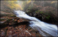 Foggy Falls (Marvin Foran Photography) Tags:
