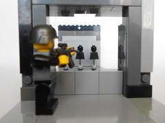 Target practice (Legobeyu) Tags: lego brickarms