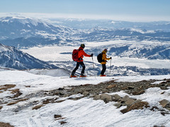 Scialpinismo Laga - Cima della Laghetta da Campotosto