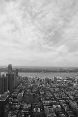 1515 Broadway (yanizmerican) Tags: nyc newyorkcity bw usa newyork clouds buildings grid mtv manhattanbridge hudsonriver 1515 stateside highriseview 47thfloor 1515broadway mtviggy mtvnetworkshq mtvnetworksinc