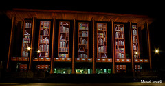 National Library of Australia, Enlighten Canberra (Canon-Kid) Tags: