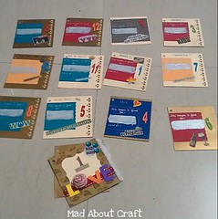Scratch coupon (Mad About Craft) Tags: diy handmade craft howto booklet personalized firstanniversary coupon lotteryticket giftidea couponbook scratchcards mysterybook scratchcoupons anniversaryidea