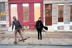 (Jacob Seaton) Tags: abandoned skeleton skull baltimore skateboard projects musicvideo rapture grimreaper tylerdavis naomidavidoff usandusonly