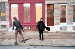 (Jacob Seaton) Tags: abandoned skeleton skull baltimore skateboard projects musicvideo rapture grimreaper tylerdavis naomidavidoff usandusonly