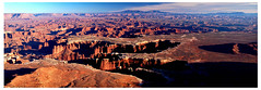 Moab Panorama (albinobobman) Tags: park summer panorama hot outdoors utah rocks desert creative dry canyon national moab photomerge lands