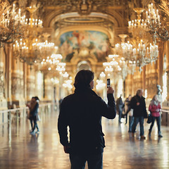 42/366 ({cindy}) Tags: paris france square opera bokeh 50mm14 explore chandeliers 365 garnier parijs iphone 365days canon5dmarkii