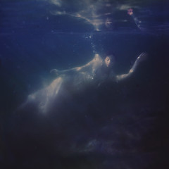 guiding hands (brookeshaden) Tags: ocean water swimming underwater elegant fineartphotography underwaterphotography etherealimagery notextureadded brookeshaden