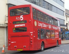 Premiere Travel T803 RFG (Ryanbus22) Tags: nottingham travel red brighton long 5 hove east eaton premiere dennis trident lancs 4603 t803rfg