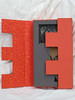 janjabookcoverhalfopen1 (ew art) Tags: africa art book branch hand handmade made cutpaper janjaweed tunnelbook thedevilcameonhorseback