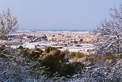 Monturi des del puig de Sant Miquel (Gaizka Taro) Tags: winter snow cold landscape village invierno mallorca frio neu montuiri landscapespullfolio