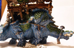 Stegadon Left (Camper_Bob) Tags: miniature painted fantasy warhammer lizardmen
