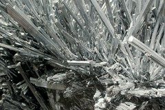 Mostly Unbroken (Rommel Parada) Tags: macro monochrome museum crystal mineral geology artifact hdr