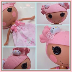 Candy Pinkcess...... (PinkWorld) Tags: cute doll handmade hellokitty sanrio kawaii custom candydoll ragdoll pinkworld pinkdoll keysi pinkfreckles pinktopia lalaloopsy blossomflowerpot kittyloopsy pinkcess pinkaloopsy kyandipinku candypinkcess