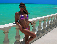 Playa del Carmen (firefly242) Tags: travel vacation beach mexico paradise yucatan playadelcarmen beautifulwomen caribbean hotbabes hotgirls rivieramaya beauties busty swimsuits bikinis bathingsuits yucatanpeninsula tropicalparadise bathingbeauties bustybrunettes fithotties