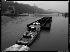 Arkwright (Don Henderson) Tags: pittsburgh coal ohioriver barges towboat westernpennsylvania arkwright monongahelariver fortpittbridge alleghenycounty consolenergy lewisclarkexpidition