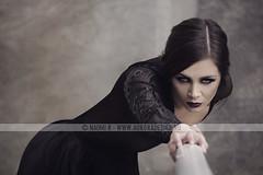 The Raven (Naomi Rahim (thanks for 5 million visits)) Tags: portrait fashion dark photography noir photoshoot gothic naturallight australia melbourne mysterious editorial romantic springsummer nikond7000