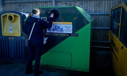Tetra Pak Recycling Box @ Warrington Tesco