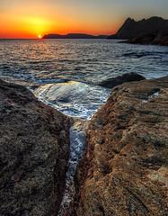 Prawle Point (Andy Fox Photography) Tags: ocean light sea cliff rock rocks waves headland
