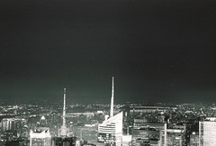 Empire State (Frank Salvador 13) Tags: nyc bw newyork byn film nikon kodak empirestate nikonfm2 nuevayork fotografiaurbana analogo franksalvador