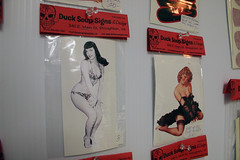 bettie p and pinups decals (robolove3000) Tags: sexy illustration sticker wonderwoman decal bettiepage pinup lasso ducksoupsigns 6088737341