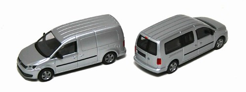 Rietze VW Caddy Maxi 2011