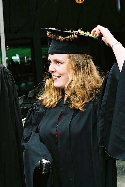Graduate Maintains her Special Cap